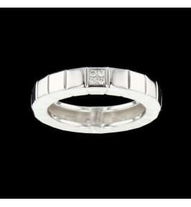 Chopard Ice Cube Grey Gold Ring