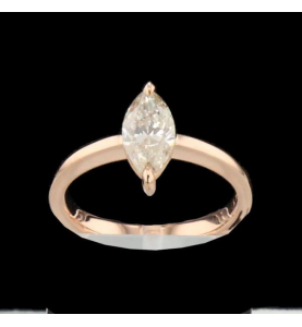 Création Solitaire Taille Marquise 1.11 carats