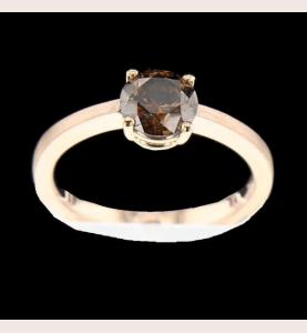 Ring Creation 1.02 Ct Orange