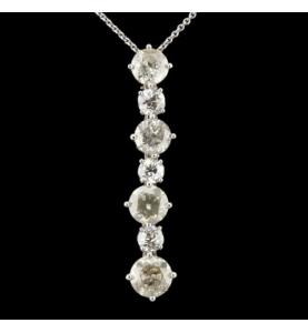 7 Diamant Anhänger 4.95 Karat