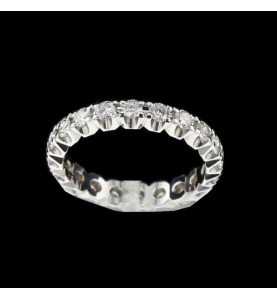 Eternity ring 1.2 carat white gold