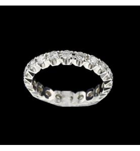 Eternity Ring gold grau 1.2 Karat