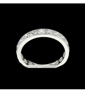Eternity Ring 20 Diamonds T 48