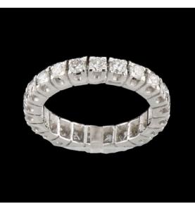 Gold Grau 22 Diamanten 1.76 Karat