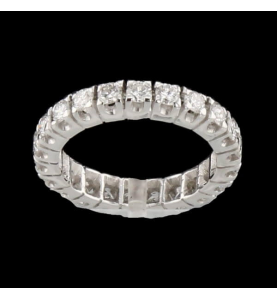 Or Gris 22 Diamants 1.76 carats