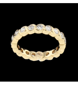 Or Jaune 19 Diamants 1.52 carats