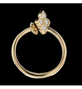 Bague Cartier or jaune et diamants 0.40 carats.