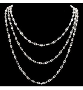 Halskette Chopard Hoch Schmuck 80 Karat.