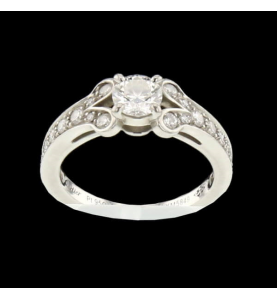 Cartier Ballerina platinum and diamonds