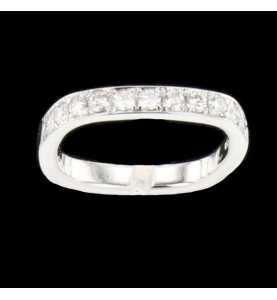 0.55 carat diamond grey gold