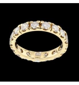 Eternity Tour 17 Diamonds 2.55 carats