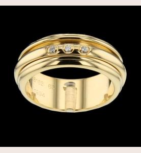Piaget Possession Ring Yellow Gold 3 Diamonds
