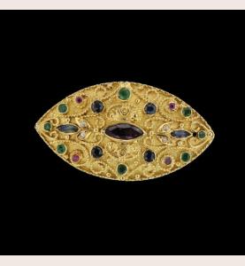 Oriental Style Sapphires Rubies Emerald Diamonds