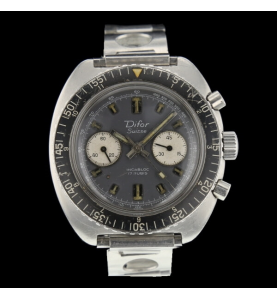 Difor Chronograph Stahl