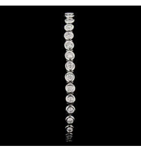Or Blanc 33 diamants 4.15 carats