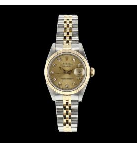 Rolex Oyster Perpetual Date Diamanten 26 mm