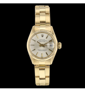 Rolex datejust Or Jaune vintage