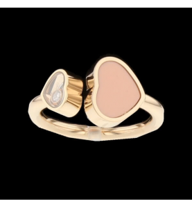 Chopard Ring Happy Hearts Pink Stone