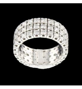 Eternity Ring Dreifach-Runde komplett