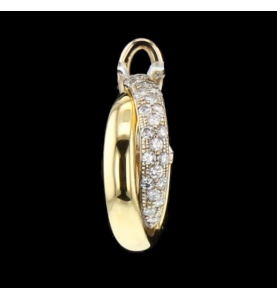 Creole Gold Bicolor and Diamonds