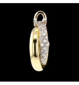 Créole Or Bicolore et Diamants