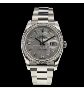 Rolex oyster perpetual datejust Stahl