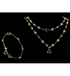 Parure Or rose Collection Pasquale Bruni